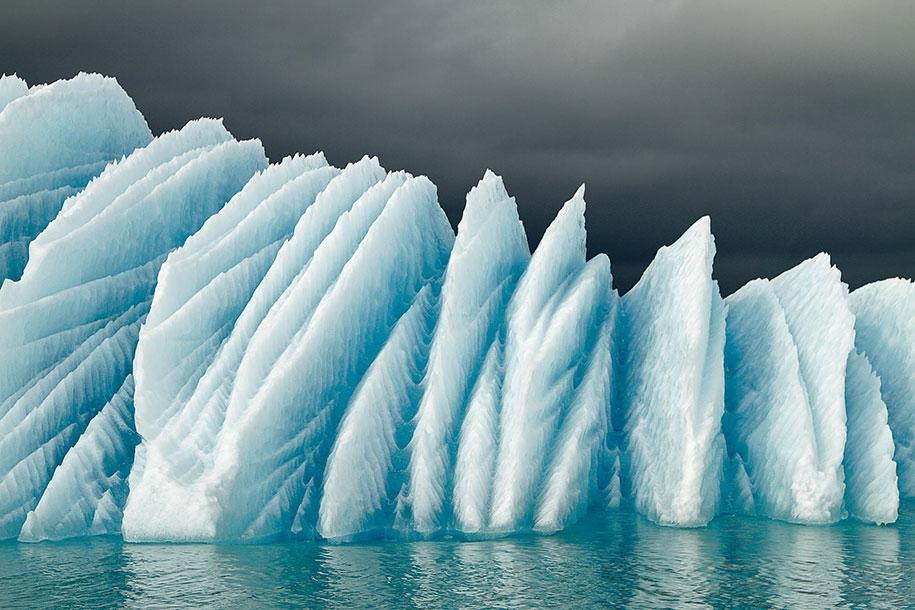 Izland-jéghegy