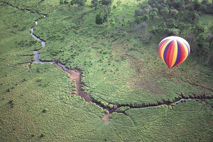 holegballon_szafari, Afrika